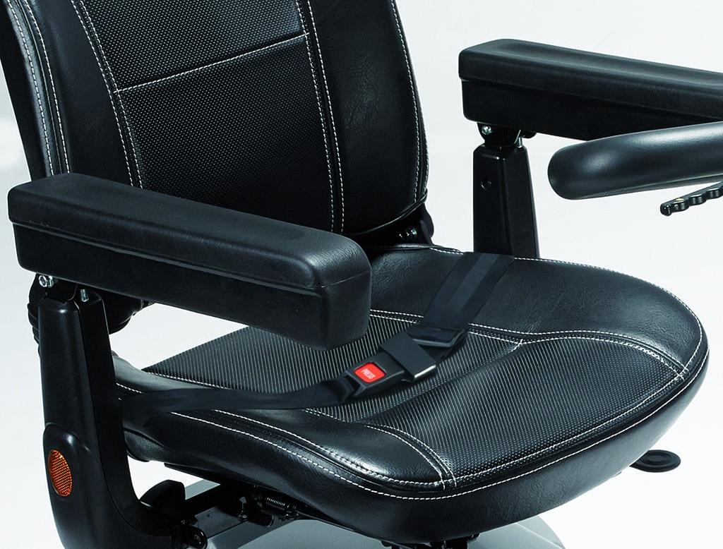 scooter lectrique confortable grande autonomie leo hyseco mobility. Black Bedroom Furniture Sets. Home Design Ideas