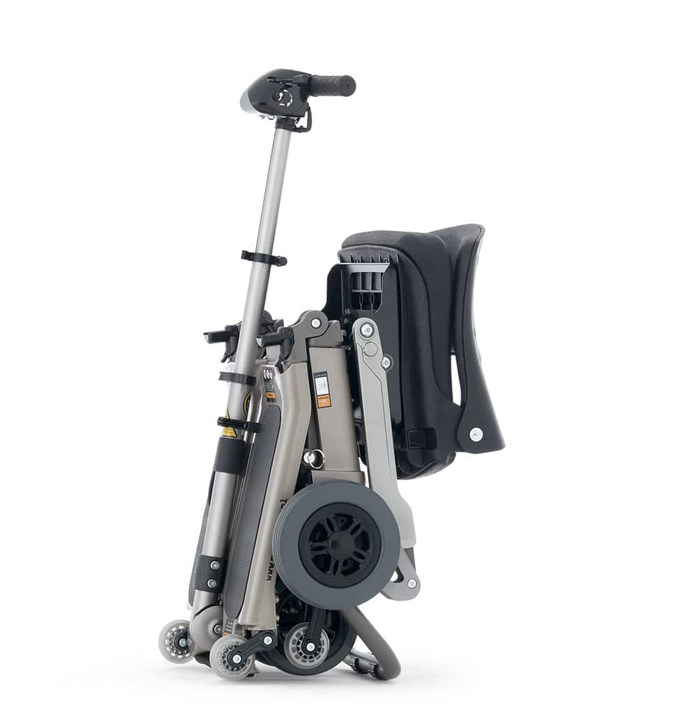 Scooter pliable seniors luggie