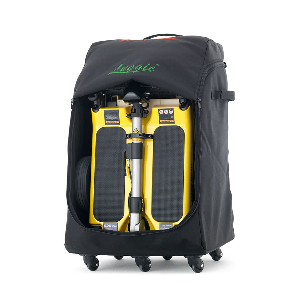 valise pour scooter pliable luggie