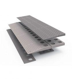 Rampe de seuil modulaire de 2,5 à 4 cm