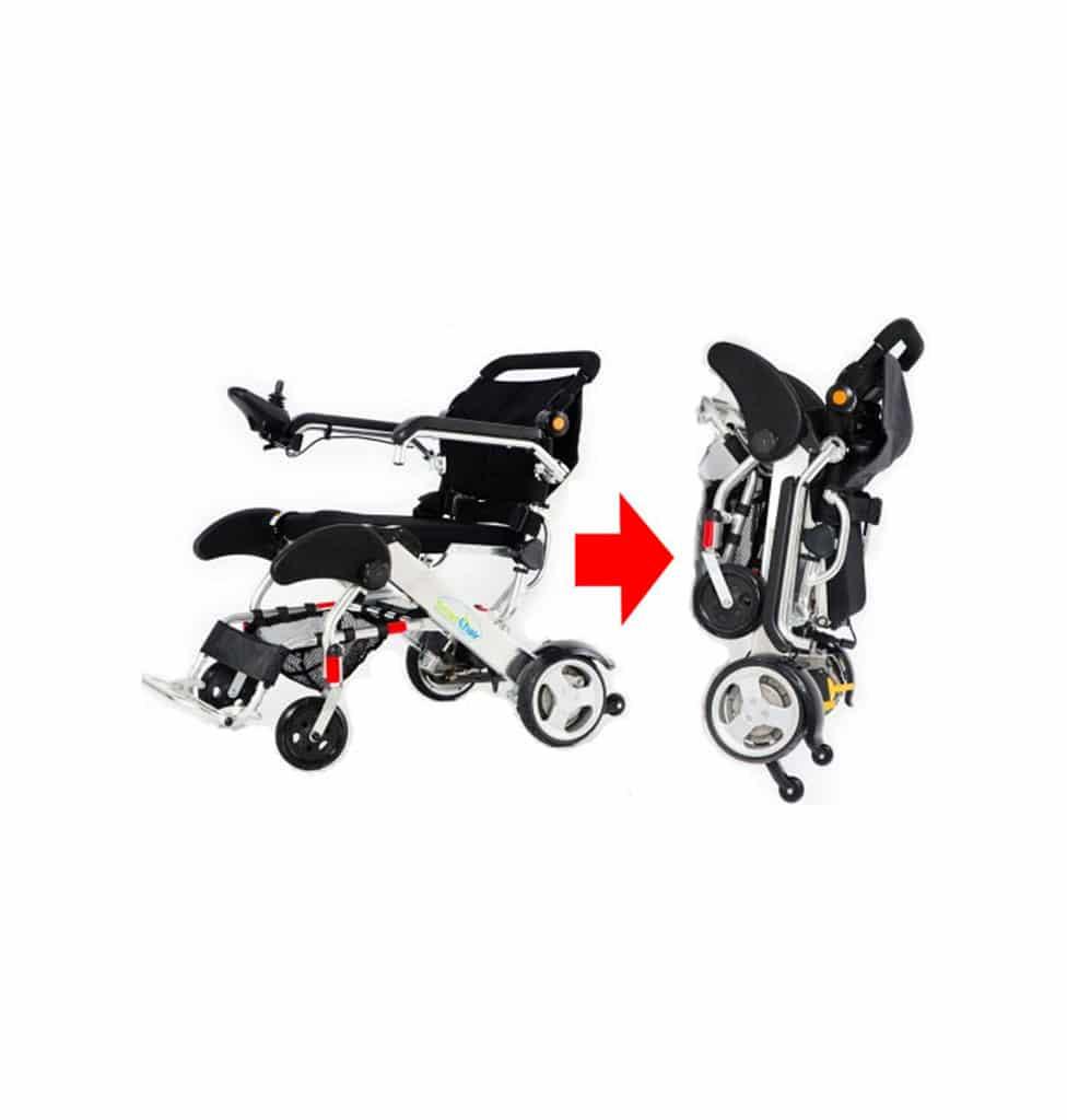 Smart Chair fauteuil roulant pliable léger intérieur et extérieur