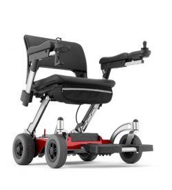 Fauteuil roulant électrique pliable et maniable
