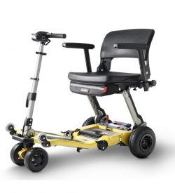 Scooter pliable et stable 164 kg